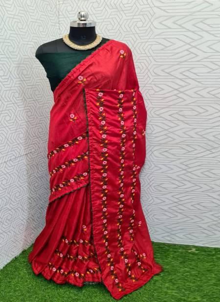 Mahek 48 Fancy Festive Wear Designer Dhola Silk Latest Saree Collection