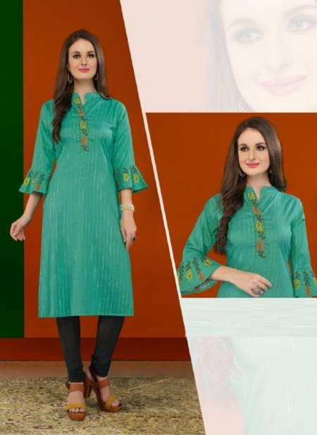 Maira Vanika 4 Ethnic Wear Embroidery Rayon Designer Kurti Collection