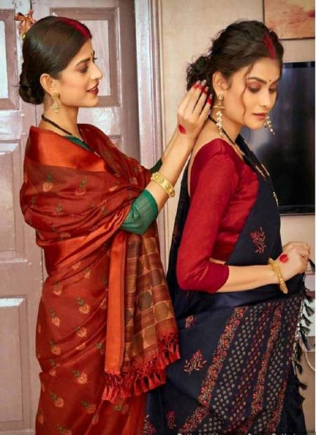 Mangalmay Satin Weaving Fancy Festive Wear Printed With Pallow Fancy Zalar Saree Collection