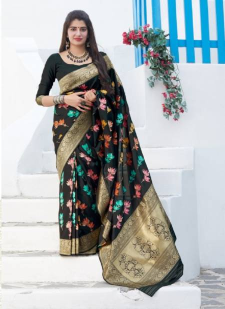 Manjubaa Premium Nx Fancy Designer Festive Wear Soft Silk Latest Saree Collection