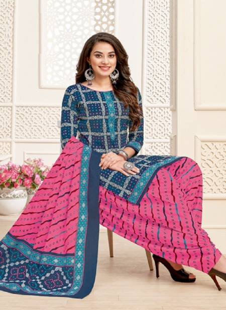 Mayur Bandhani Special 12 Regular Casual Wear Printed Cotton Dress Material Collection