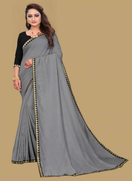 Meera 12 Fancy Festive Wear Georgette Moti Worked Designer Saree Collection