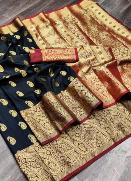Meera 40 Fancy Party Wear Heavy Banarasi Silk Latest Saree Collection