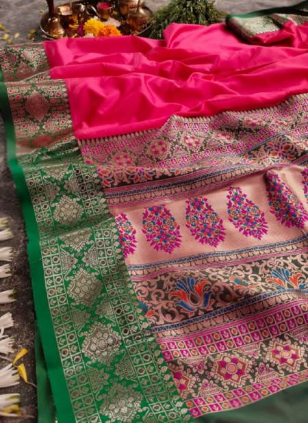 Meera 45 Party Wear Heavy Latest Designer Banarasi Silk Fancy Saree Collection