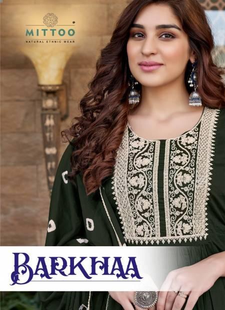 Mitto Barkha Fancy Designer Regular Wear Cotton Printed Readymade Salwar Suit Collection