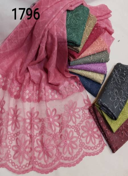 Multi Hijab 1796 Latest Fancy Designer Casual Wear Hijab Collection