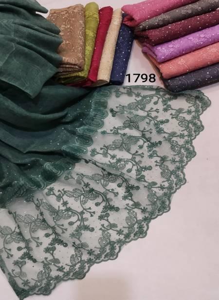 Multi Hijab 1798 Latest Fancy Designer Casual Wear Hijab Collection