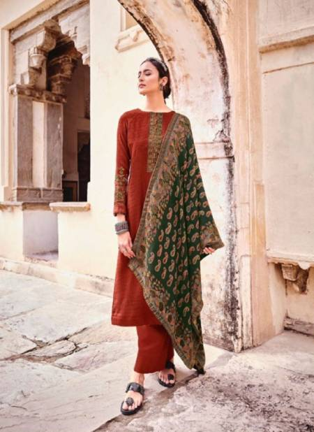 Mumtaz Kani Cashmeres Winter Festive Wear Designer Pashmina Salwar Suit Collection