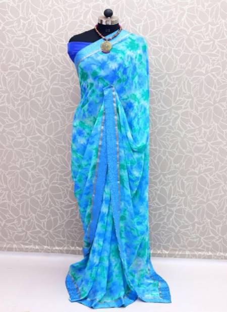 Niharika 12 Georgette Regular Wear Printed Latest Saree Collection