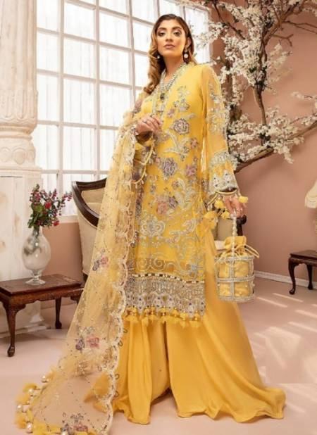 Noor Guzarish 2 Georgette Festive Wear Heavy Pakistani Salwar Kameez Collection