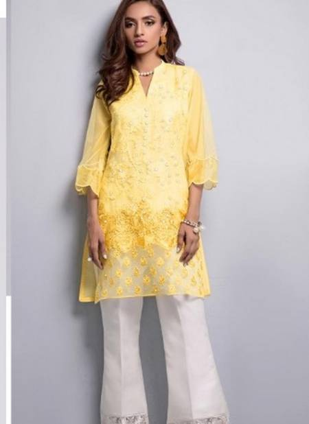Party Wear Fancy Heavy Embroidery Work Designer Collection With Pearl and Stylish Designer Bottom