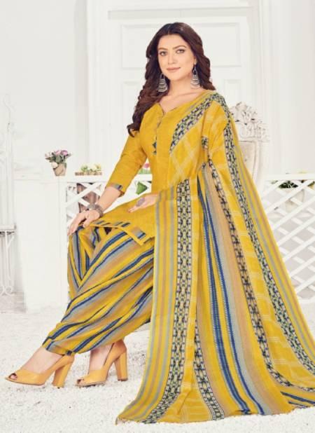 Patiyala Express 9 Regular Wear Printed Cotton Designer Dress Material