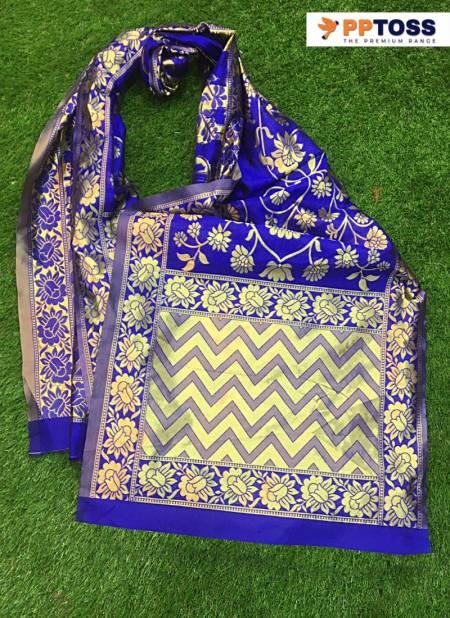 Pptoss Banarasi Latest Fancy Designer Festive Wear Dupatta Collection