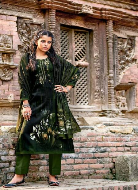 Prm Jeenat Jam Cotton With Embroidery Casual Wear Designer Dress Material Collection