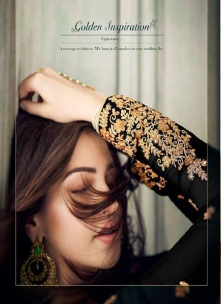 R 8201 Heavy Festive Wear Embroidery Georgette Heavy Salwar Kameez Collection