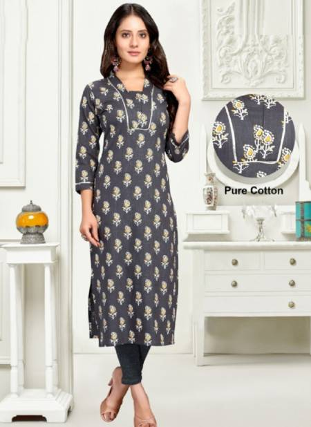 Rajnandini 28 Regular Wear Jaipuri Printed Cotton Kurti Collection