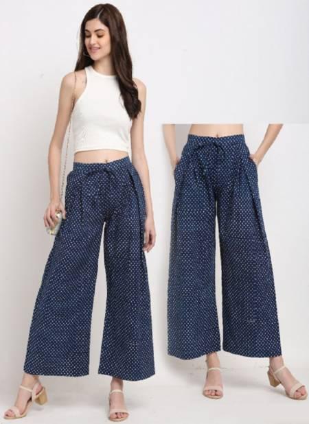 Rajnandini Plazzo 2 Casual Wear Cotton Printed Pants Collection