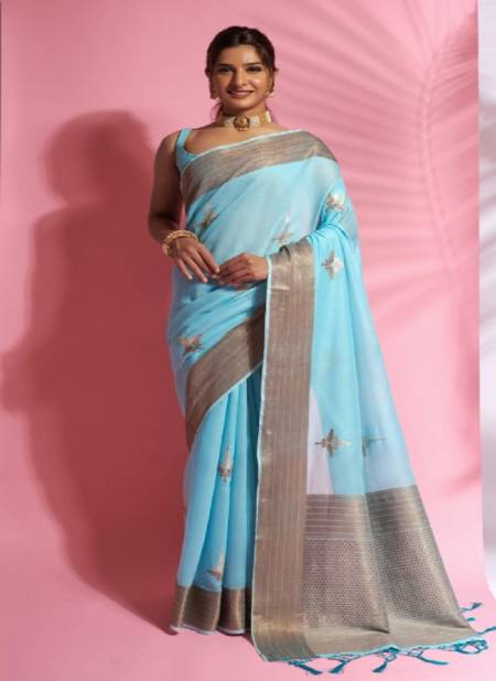 Rajyog Aarna Party Exclusive Wear Soft Cotton Latest Saree Collection