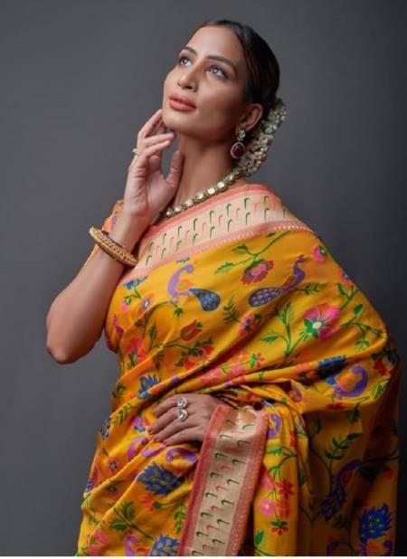 Rajyog Apoorva Silk Weaving Heavy Festive Wear Fancy Designer Saree Collection