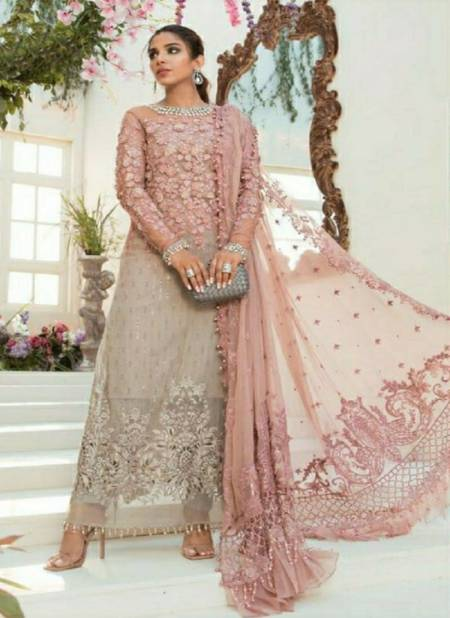 Ramsha Mariya B Nx Heavy Embroidery Festive Wear Pakistani Salwar Kameez Collection
