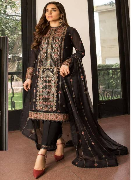 Ramsha R 22 Exclusive Pakistani Festive Wear Georgette Net With Embroidery Salwar Kameez Collection