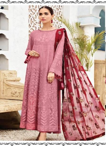 Ramsha R 305 Nx Festive Wear Georgette With Heavy Work  Pakistani Salwar Kameez Collection