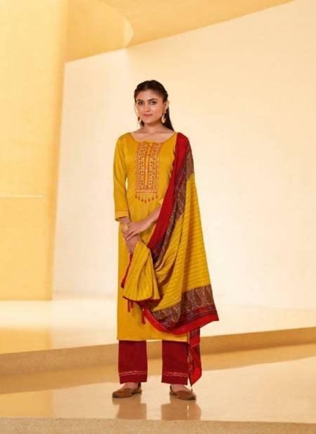 Rangoon Riha Silk Designer Festive Wear Fancy Silk with Embroidery Work Ready Made Collection