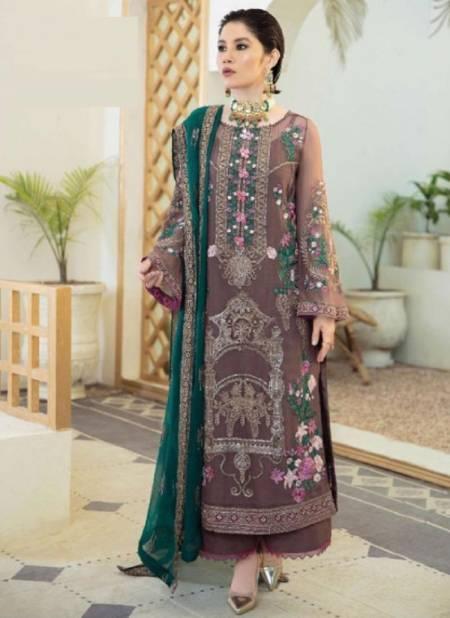 Rinaz Imrozia 4 Georgette Heavy Festive Wear Pakistani Salwar Kameez Collection