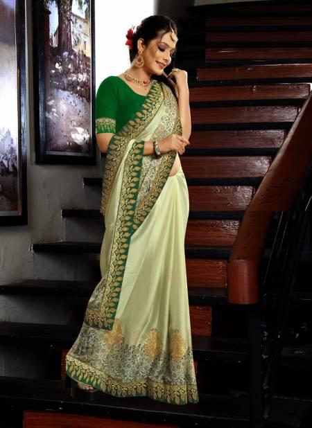 Ronisha Filhaal Fancy Work Festive Wear Chiffon Designer Saree Collection