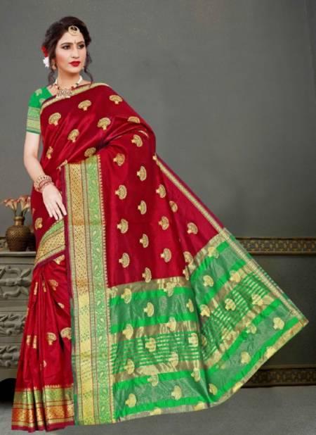 Ronisha Swagat Designer Casual Wear Printed Silk Saree Collection
