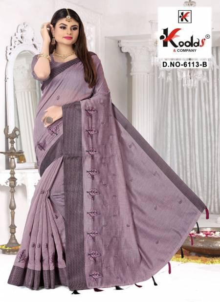 Ruhani 6113 Stylish Party Wear Cotton Latest Sarees Collection