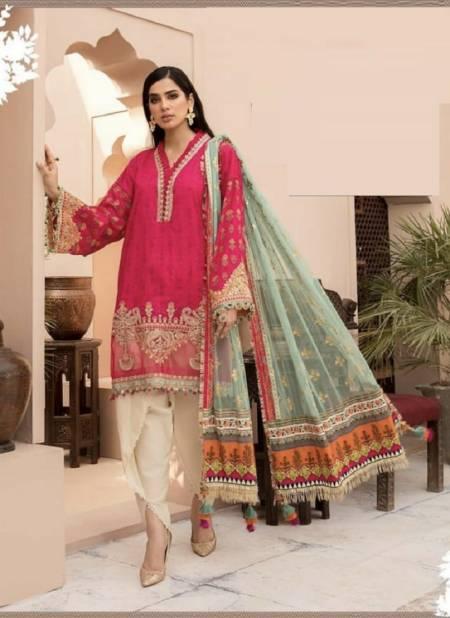 Safinaz Mariya B 3 Law Cotton Casual Wear Pakisatni Salwar Kameez Collection