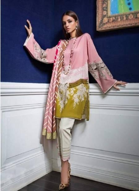 Sairoz Sana Safinaz Muzlin Pashmina Casual Wear Latest Dress Collection