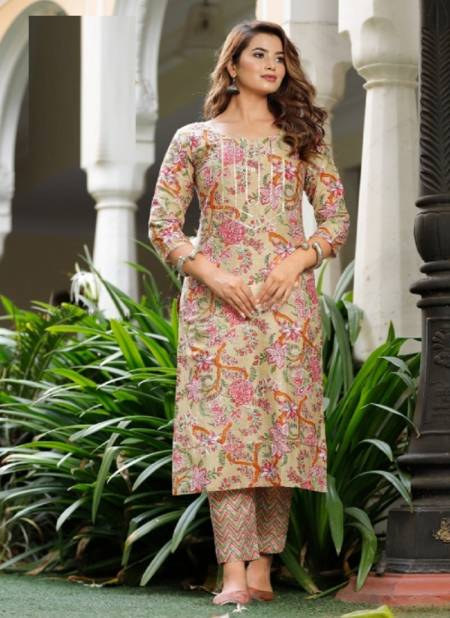 Sakhi 7 Designer Casual Wear Cotton Top With Bottom Collection