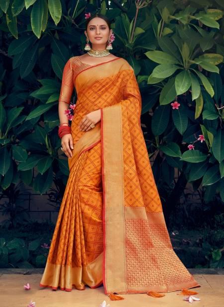 Sangam Navratan Heavy Festive Wear Patola Silk Latest Designer Saree Collection