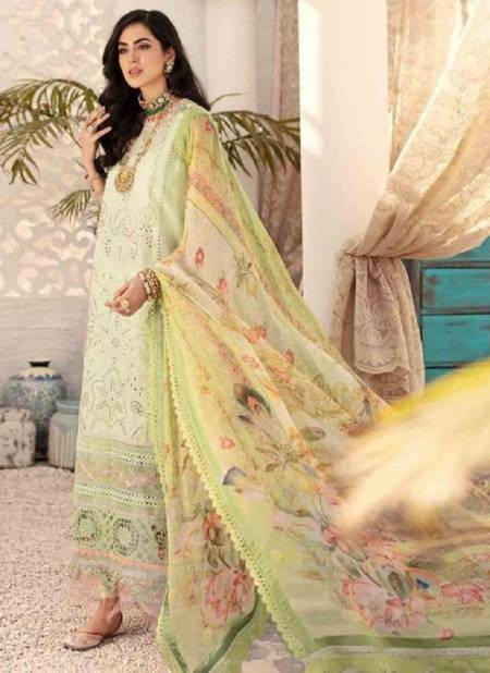 Saniya Noor Chikankri 2 Cambric Cotton Designer Festive Wear Pakistani Salwar Kameez Collection