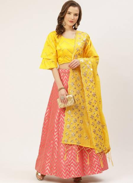 Sanskar Latest Designer Jacquard Party Wear Stylish Lehenga Collection