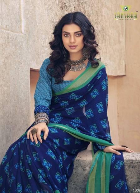 Sanskar Utsah Printed Georgette Casual Wear Sarees Collection