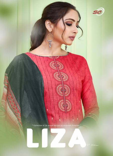 SC Liza 6th Edition Latest Designer Festive Wear Cotton Printed Dress Material Collection