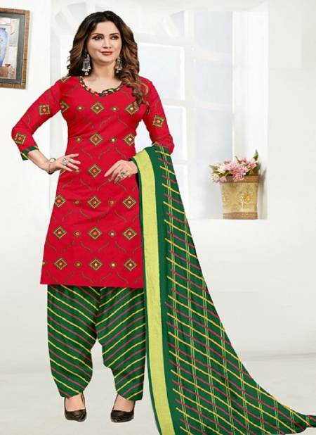 Sc Satin Top Gamthi Work Regular Wear Cotton Printed Designer Dress Material Collection