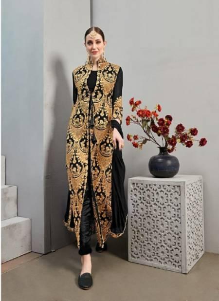 Senhora Shabnam 24 Festive Wear Georgette Embroidery Salwar Kameez Collection