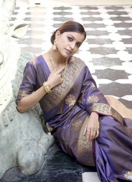 Shangrila Karaikudi Festive Wear Heavy Designer Silk Saree Collection