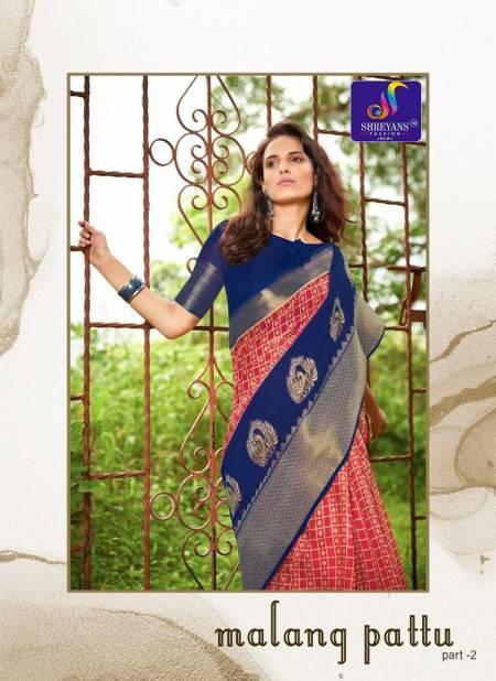Shreyans Malang Pattu Part 2 Designer Festival Wear Cotton Silk Printed Saree