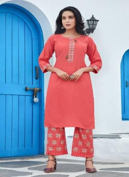 Smylee Nigaah Bombay Slub Embroidered Designer Kutri With Bottom Latest Collection