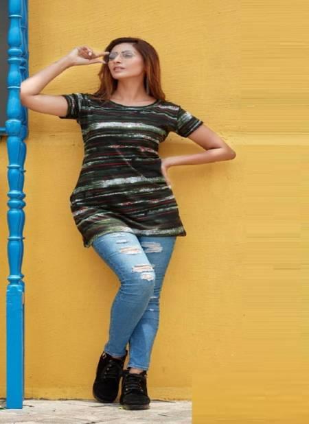 Smylee Safron 2 Sinker Hosiery cotton Night Wear Comfortable T-shirt Collection