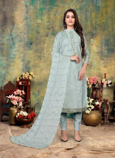 Sonika Party Wear Designer Hand Worked Latest Drees Material Collection