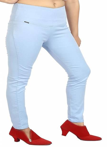 Swara Broad Belt Pant Beautiful Denim Comfortable Casual Wear Collection