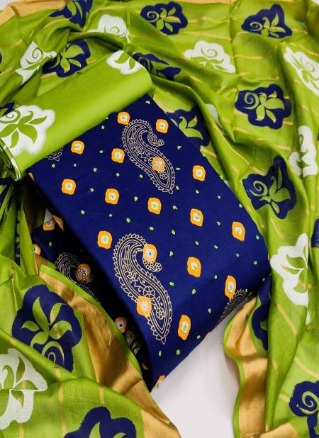 Swarna 5 Cotton Printed Casual Wear Designer Fancy Work Dress Material Collection