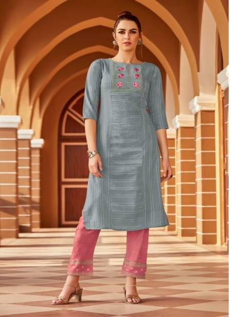 Syasii Matic Fancy Party Wear Cotton Embroidery Latest Designer Kurtis Collection