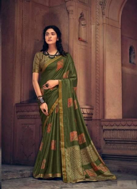 Tanushree Ethnic Wear Designer Fancy Khadi Cotton Saree Collection